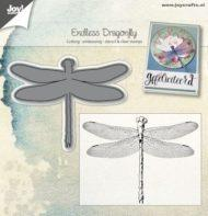 "Joy cut/stamp "" Dragonfly"""
