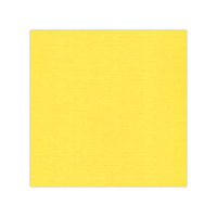Linnen karton bright yellow